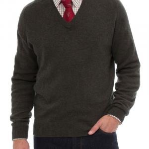 Alan Paine Burford V Neck Pullover