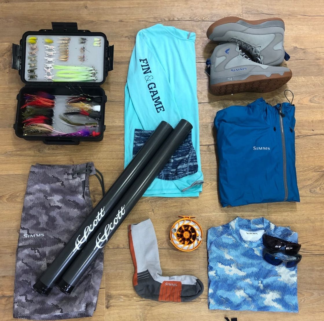 How to pack for a saltwater fishing trip