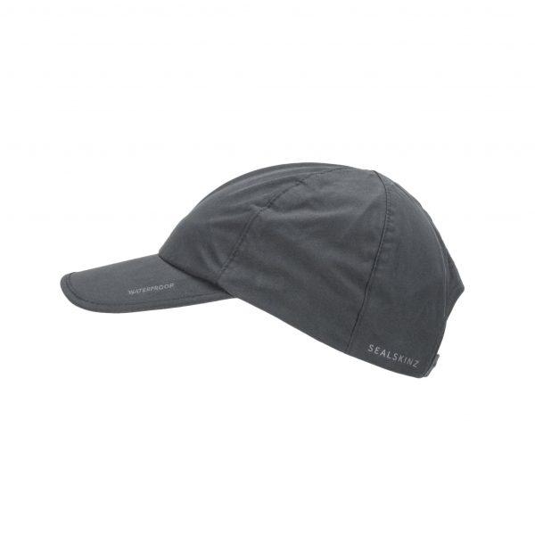 Waterproof All Weather Cap - Black/Grey