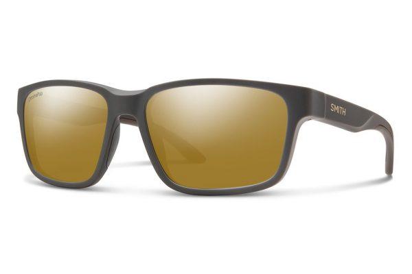 Smith Optics Basecamp Matte Gravy Polar Bronze Mirror Sunglasses