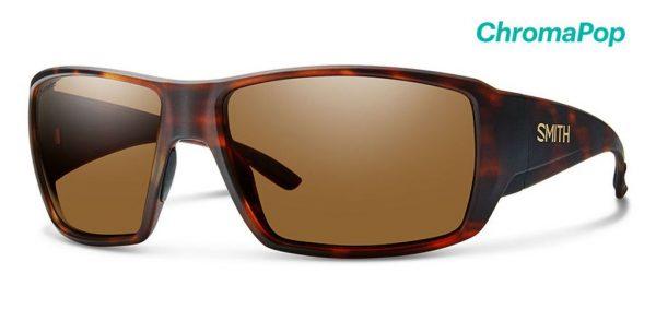 Smith Optics Guide's Choice Matte Havana Polar Brown Sunglasses