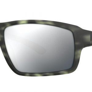 Smith Optics Hookshot Matte Ash Tortoise Polar Platinum Mirror Sunglasses