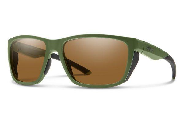 Smith Optics Longfin Matte Moss Polar Bronze Sunglasses