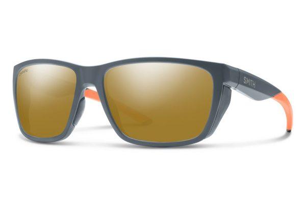 Smith Optics Longfin Matte Thunder Polar Bronze Sunglasses