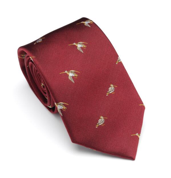Laksen Woodcock Vintage Red Tie