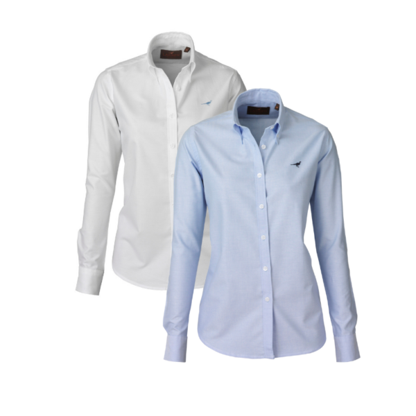 Laksen-Notre-Dame-Oxford-Shirt