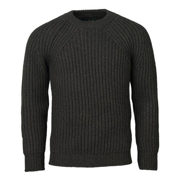 Laksen Aberdeen Palm Green Knit Sweater