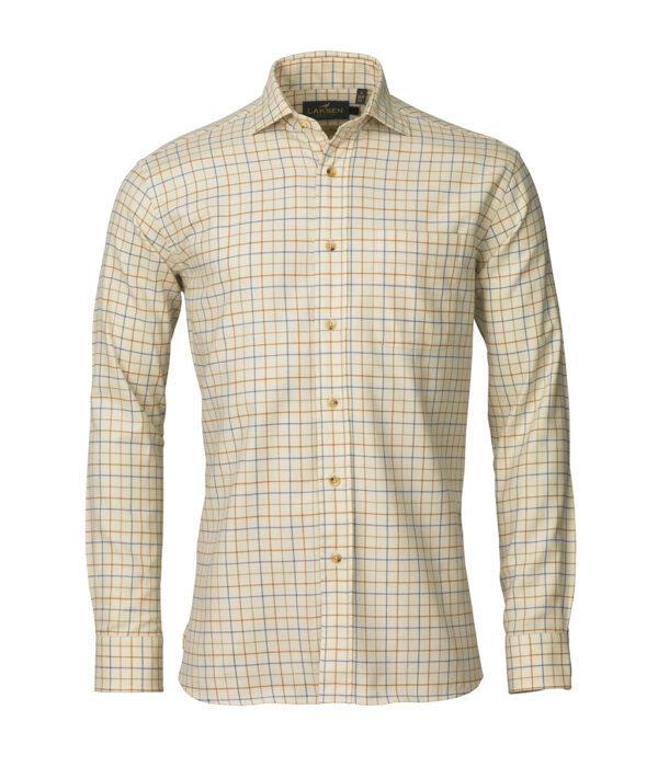 Laksen Brushed Cotton Reggie Shirt