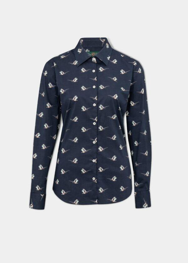 Alan Paine Ladies Lawen Printed Shirt