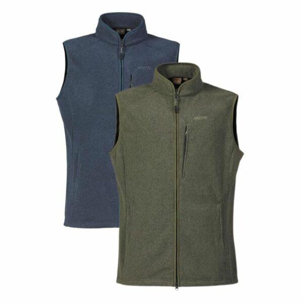 Musto Mens Fenland Polartec Vest Deep Green Cover